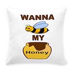 Bee My Honey Everyday Pillow