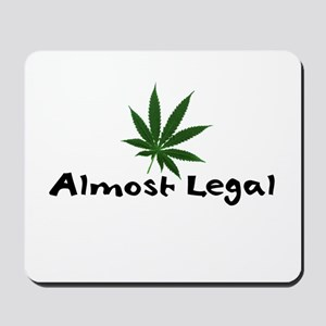 Almost Legal Mousepad