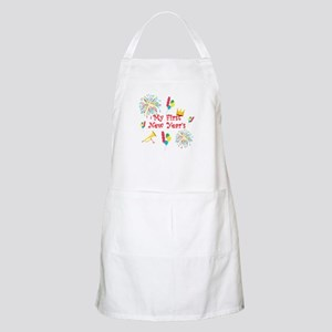 My First New Year's Apron