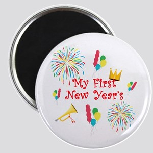 My First New Year's Magnet