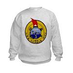 USS KANSAS CITY Kids Sweatshirt