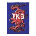 TKD Dragon 5'x7'Area Rug