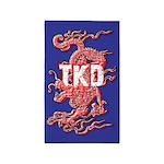 TKD Dragon Area Rug