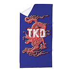 TKD Dragon Beach Towel