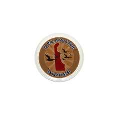 Delaware Birder Mini Button
