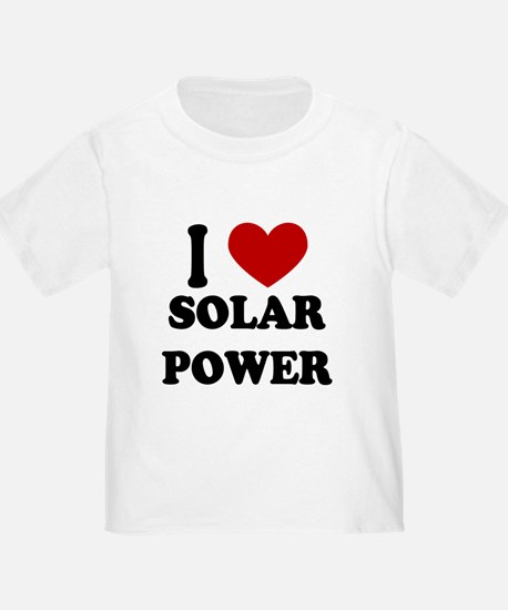 I Heart Solar Power T