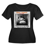 Mary Church Womens Plus Size Black Tee