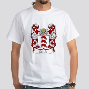 Garcia Family Crest White T-Shirt