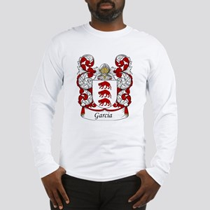 Garcia Family Crest Long Sleeve T-Shirt