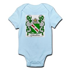 Goncalves Family Crest Infant Creeper