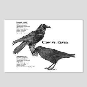 Crow vs. Raven - Postcards (Package of 8)