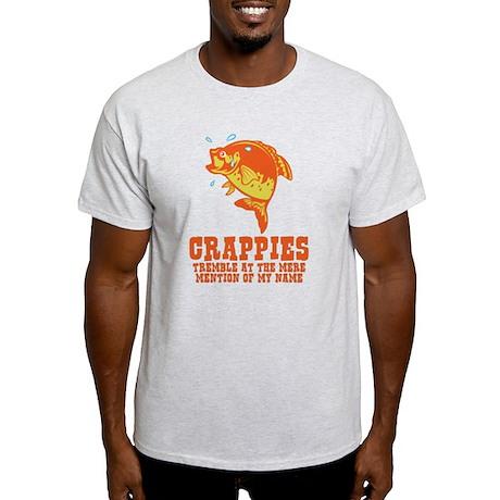 Crappies Tremble Light T-Shirt