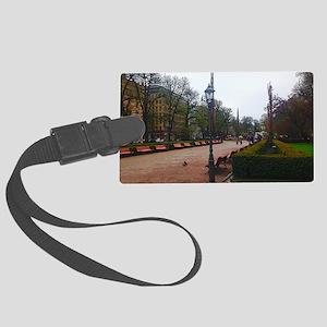 Helsinki Park Walk Luggage Tag