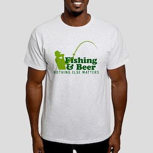 Fishing & Beer Light T-Shirt
