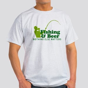 Fishing & Beer Light T-Shirt