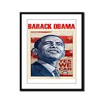 """Barack Obama """"President Elect Framed Panel Pr"""