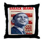 "Barack Obama ""President Elect Throw Pillow"