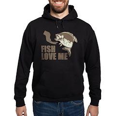 Fish Love Me Hoodie (dark)