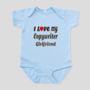 I Love My Copywriter Girlfriend Infant Bodysuit