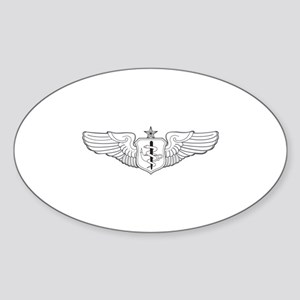 Flight Nurse Oval Sticker