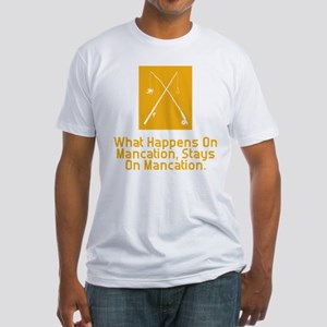 Mancation Fitted T-Shirt