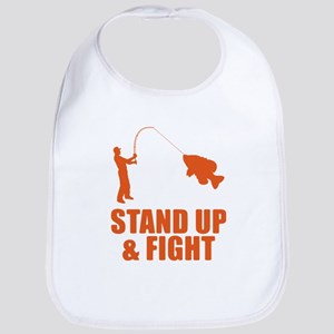 Stand Up And Fight Bib