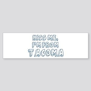 Kiss me: Tacoma Bumper Sticker