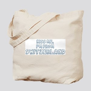 Kiss me: Switzerland Tote Bag