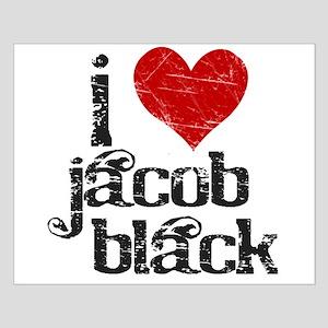 I Love Jacob Black Small Poster