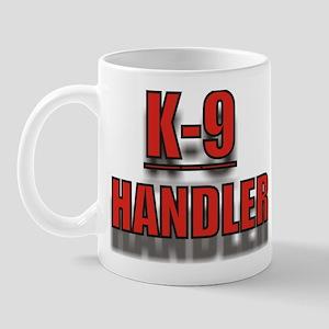 """""""K-9 HANDLER"""" Mug"""
