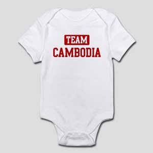 Team Cambodia Infant Bodysuit