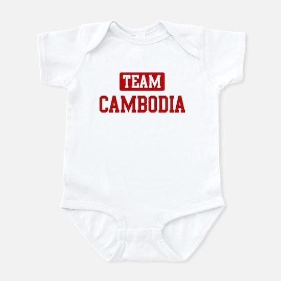 Team Cambodia Infant Bodysuit