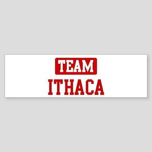 Team Ithaca Bumper Sticker