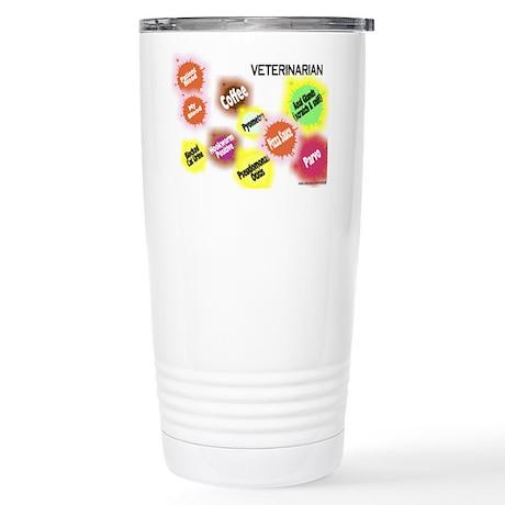 Veterinarian Stainless Steel Travel Mug