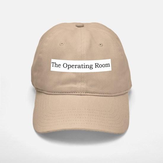 The Operating Room Baseball Baseball Cap