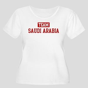 Team Saudi Arabia Women's Plus Size Scoop Neck T-S