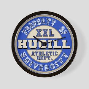 Hugill Name Athletic Dept Wall Clock