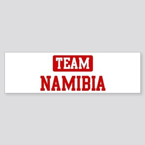 Team Namibia Bumper Sticker