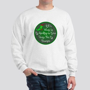 Tractor Parts Christmas Sweatshirt