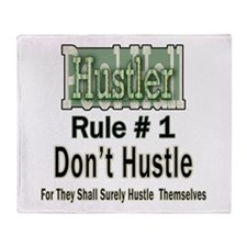 Best Pool Hall Hustler Rule Throw Blanket