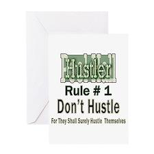 Best Pool Hall Hustler Rule Greeting Cards