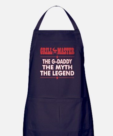 Grillmaster The Gdaddy The Myth The L Apron (dark)