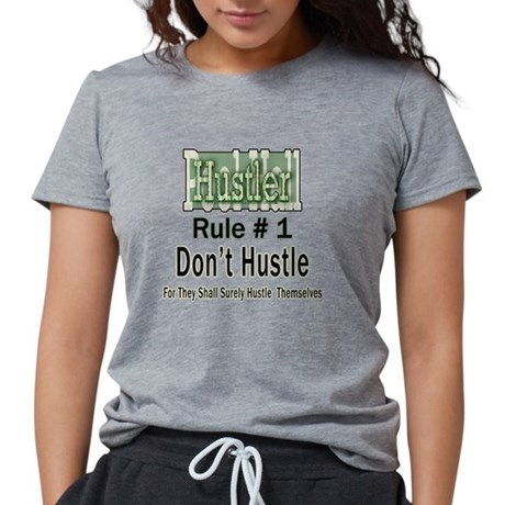 Pool Hall Hustler Rules Women's Soft Tri-blend T-shirt