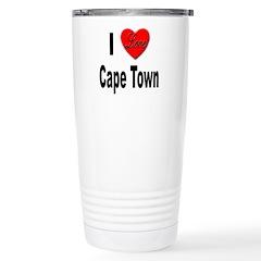 I Love Cape Town Stainless Steel Travel Mug