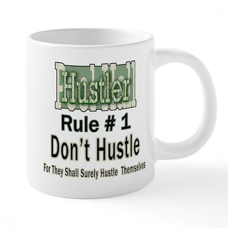 Pool Hall Hustler Rules 20 oz Mega Mug