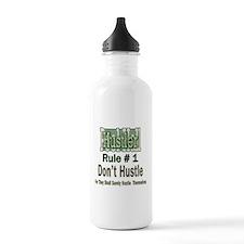 Best Pool Hall Hustler Rule Water Bottle