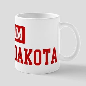 Team North Dakota Mug