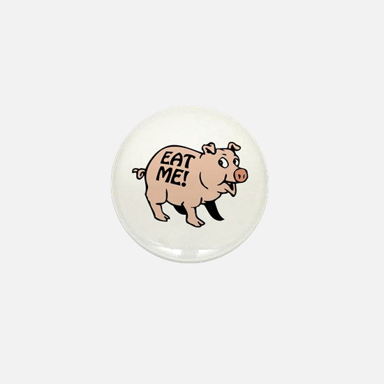 Pinky the BBQ Pig * Mini Button