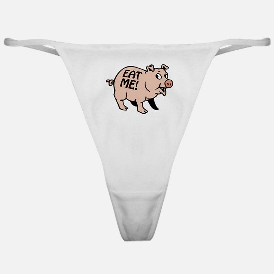 Pinky the BBQ Pig * Classic Thong
