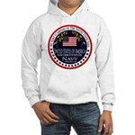 Navy Aunt Hooded Sweatshirt